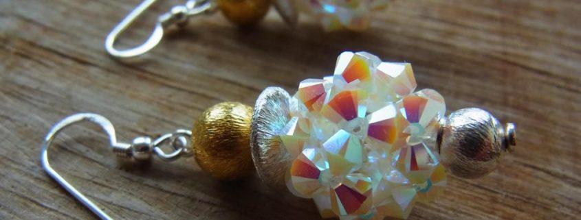 Ohrschmuck Silber und Gold