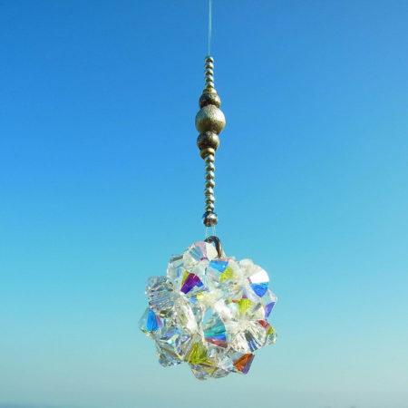 Feng Shui Fensterkristall Element Metall 1