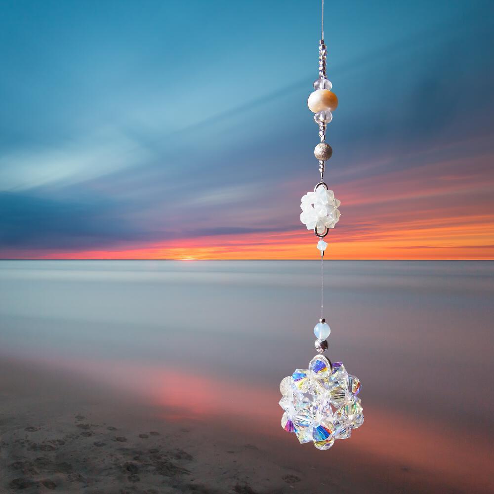 Fensterkristall für Glück und Feng Shui