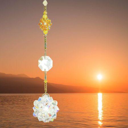 Fensterkristall für Glück und Harmonie